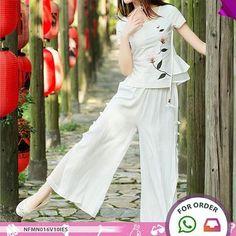 SKU: NFMN016V10IES Price: US $39.53 | PKR 4299 Colors: Black, Navy blue, White Material: Linen,Cotton Category: Women >… #Vivoren #Fashion