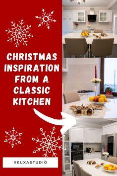 #ChristmasKitchen#islandkitchen #islandkitchendesign #classickitchen #kitchendesign #warmtones #kitchenfurniture #kitchenideas #whitekitchen #KUXAstudio #KUXA #KUXAkitchen #bucatarieclasica #bucatarieinsula Classic Kitchen, Christmas Inspiration, Furniture, Studio, Design, Home Decor, Decoration Home, Room Decor