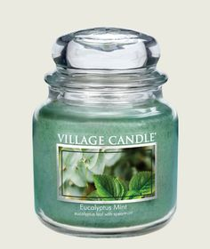 Vibrant eucalyptus is blended with fresh spearmint.