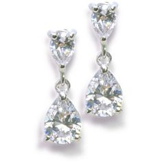 Anna Bellagio - Anastasia Cubic Zirconia Earrings, $32.00 (http://www.annabellagio.com/anastasia-cubic-zirconia-earrings/)
