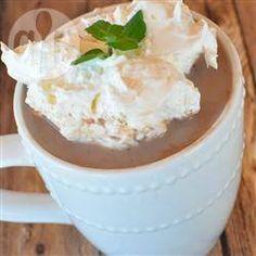 Foto da receita: Chocolate quente cremoso com canela