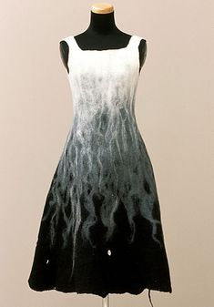 felted dress ... guessing it's nuno
