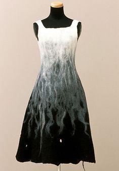 Fantastic felt dress from Andrea Zittel
