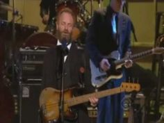 STING at the Kennedy Center Tribute to Bruce Springsteen singing The Rising. This is a GREAT performance with Bruce looking on.