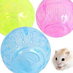 ♡ This product is designed to screw-fix together which makes it stronger then conventional play balls and is suitable for Hamsters, and other small animal ♡ Brand New and high quality ♡ Doors unlock by twisting anti-clockwise