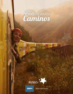 Probá nuevos caminos | Try new roads | Happy #Friday | Feliz #Viernes | #Wanderlust #AmoViajar |  :: Viajá en mouse ahora mismo en :: http://www.tripin.travel/destinos-argentina.html ::