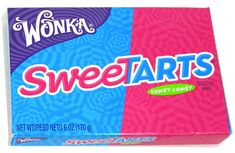 <p>In the whole wide world of Wonka candy there is possibly no other so accurately named as SweeTarts! That said, there is also likely no other with such an often confused spelling. Whether you're looking for SweeTarts candy (the correct spelling!), Sweet Tarts candy, or even SweetTarts candy, chances are good this is it! The sweet and sour flavor of this tangy treat is most similar to Pixy Stix and Fun Dip, though SweeTarts are a touch more tangy than the others. If you like your c... Online Candy Store, Fun Dip, Sweetarts, School Play, Best Candy, Willy Wonka, Tropical Paradise, Good Movies, Good Things
