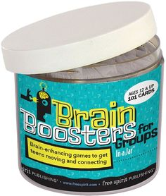 Brain Boosters for Groups In a Jar | Team Building Games