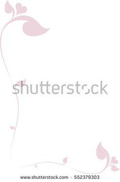Floral Heart Frame Border vector illustration, Southeast Asia Art Design