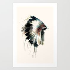 Buy Headdress by Amy Hamilton as a high quality Art Print. Worldwide shipping available at Society6.com. Just one of millions of products available.