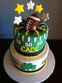 Notre Dame Football Cake