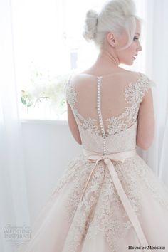 House of Mooshki Spring 2015 Wedding Dresses | Wedding Inspirasi