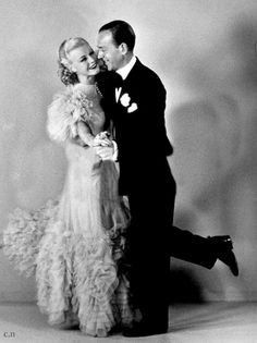 "Fred Astaire & Ginger Rogers ""Swing Time"" (1936)"