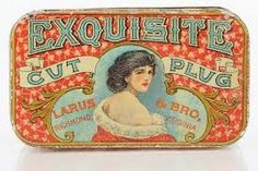 Image result for how decorate tobacco tins