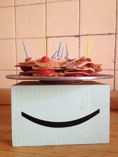 con los mini pancakes di Dani
