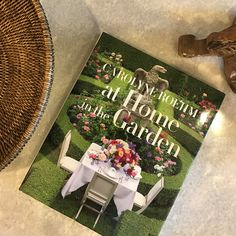 For one who lives gardens, one who loves reading, or one who loves beauty: the Carolyne Roehm at Home in the Garden coffee table book. #beauty #flora #gardening #CarolyneRoehm #coffeetablebook #hardbacks #gifts #design #decor #designimagesaugusta