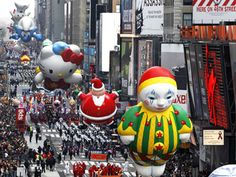Macy's Thanksgiving Day Parade....I want to do this!
