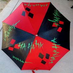 Harley Quinn Umbrella   SO NEED THIS!!!!