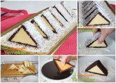 üçgen kek nasıl yapılır