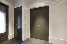Hal met deuren van Bod'or - Model Oostzaan - Design by Piet Boon - Residential