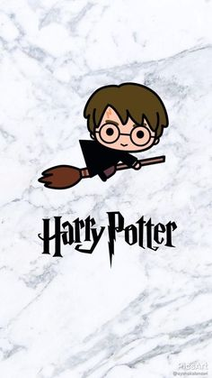Love this chibi Harry on his broomstick