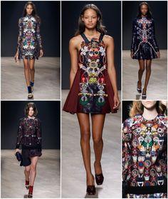 Mary Katrantzou fall2014 more clothes like this, please