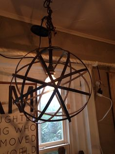 How to make a wire lampshade frame craft ideas pinterest wire spear chandelier pendant iron light by pillowtalkeuropeande greentooth Images