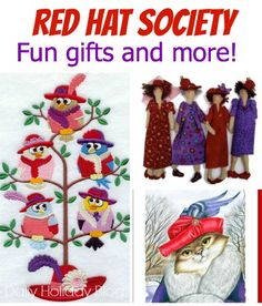 Fun gifts for your favorite Red Hat Society member!