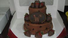 Ball & Chain — Groom's Cakes