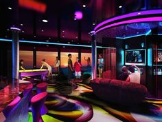 My Son would love this..The Entourage Teen Lounge coming to all Norwegian Cruise Line ships