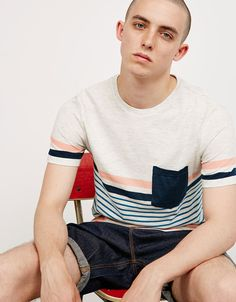 e50cc6a29cc7 109 Best STRIPES TEE images in 2019 | Man fashion, Men's, Ice pops