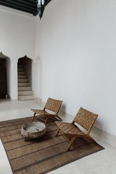 Old and new converge inside the storied walls of Marrakech holiday home Riad Wooden furniture and earthy, natural elements have been used throughout the riad to hone a sense of wellness – and calm. Interior Design Blogs, Home Interior, Interior Inspiration, Interior Architecture, Interior And Exterior, Interior Decorating, Interior Modern, Exterior Design, Design Inspiration
