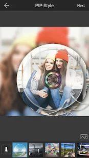 PIP Camera-editor de fotos: miniatura de captura de pantalla