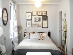 decoracion dormitorios matrimoniales espacios pequeños - Buscar con Google