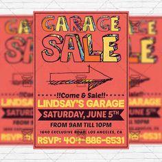 yard sale flyers free templates