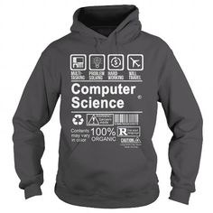COMPUTER SCIENCE - CERTIFIED JOB T-SHIRTS, HOODIES (38.99$ ==► Shopping Now) #computer #science #- #certified #job #shirts #tshirt #hoodie #sweatshirt #giftidea