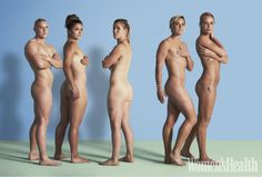 Team GB Women's Rugby Sevens Get Naked To Promote Body Confidence Team GB's (L-R) Heather Fisher, Amy Wilson-Hardy, Michaela Staniford, Danielle Waterman and Claire Allan
