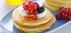 Philadelphia Pancakes con frutti di bosco