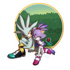 Silver and Blaze!