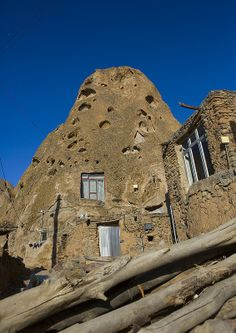 ˚Carved Home In The Village Of Kandovan, Iran