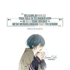 Anime Motivational Quotes, Book Quotes, Me Quotes, Islamic Cartoon, Anime Qoutes, Reminder Quotes, Quotes Indonesia, Muslim Quotes, Quote Aesthetic