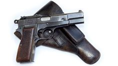 WWII German Browning Hi-Power. Find our speedloader now! http://www.amazon.com/shops/raeind