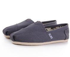 Toms Classics Mens Shoes Grey