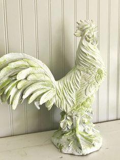 Custom Chicken Statue Kitchen Table Centerpiece Rooster