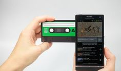 Sharetapes - NFC enabled QR code cassettes