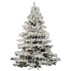 Artificial Christmas Tree 3 Ft 100 LED Lights Holiday Xmas Beam White #easy_shopping08