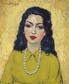 Kees van Dongen, Femme au collier