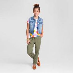 Girls' Creatively Cute Outfit - Cat & Jack™ : Target
