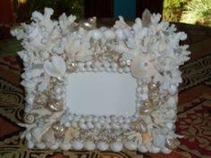 Accent Pieces | Savannah Shell Art Seashell Frame, Seashell Crafts, Shell Art, Ocean Art, Accent Pieces, Sea Shells, Picture Frames, Diy Crafts, Savannah
