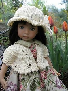 CLASSIC-CREAM-SWEATER-HAT-by-Tuula-fits-13-Effner-Little-Darling-to-a-t. Sold BIN for $69.99 on 5/4/14.